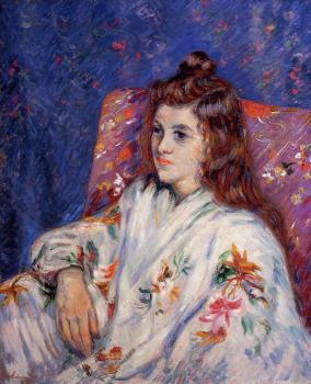 Armand Guillaumin : Portrait of Madeleine