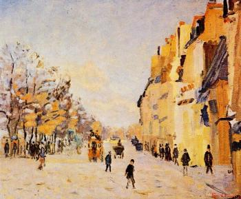 Armand Guillaumin : Quai de Berty, Snow Effect