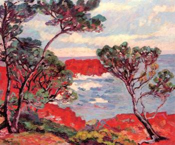 Armand Guillaumin : Red Rocks