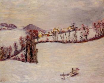 Armand Guillaumin : Sanit-Sauves in the Snow