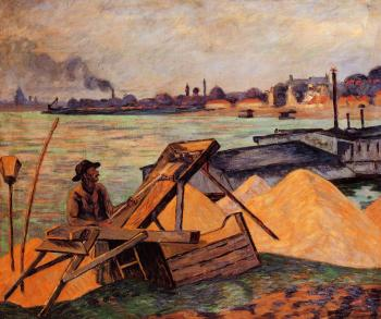 Armand Guillaumin : Sifting Sand