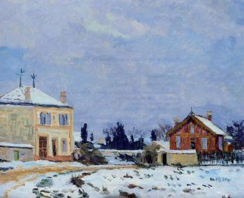 Armand Guillaumin : Snow