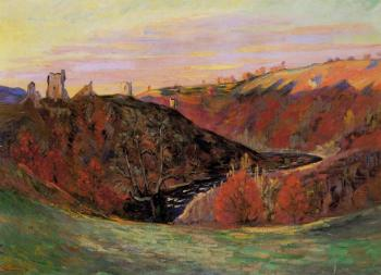 Armand Guillaumin : Sunset on the Creuse