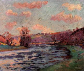 Armand Guillaumin : The Banks of the Creuse River