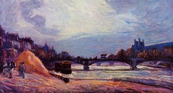 Armand Guillaumin : The Pont des Arts