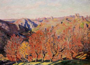 Armand Guillaumin : The Ruins at Crozant