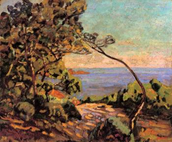 Armand Guillaumin : The Sea at Pointe de la Perriere, Saint-Palais