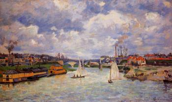 Armand Guillaumin : The Seine at Charenton II