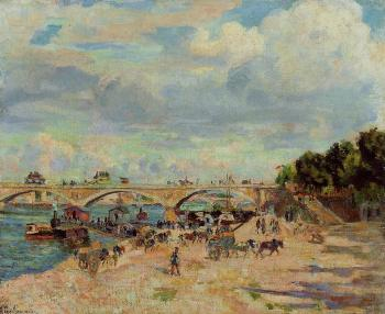 Armand Guillaumin : The Seine at Charenton III