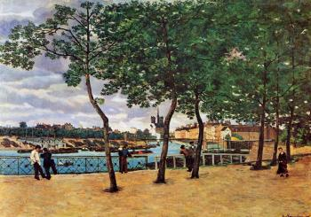 Armand Guillaumin : The Seine at Paris