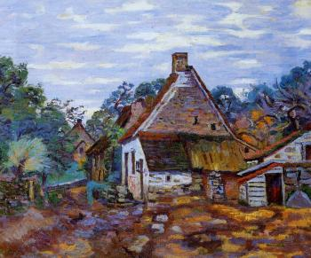 Armand Guillaumin : Village