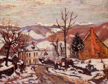 Armand Guillaumin : Winter in Saint Sauves