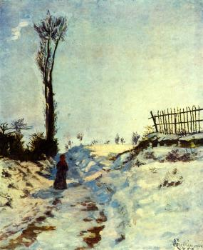 Armand Guillaumin : Hollow in the Snow