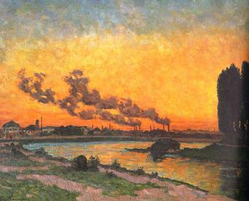 Armand Guillaumin : Sunset at Ivry II