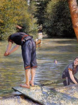 Gustave Caillebotte : Bathers