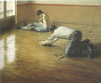 Gustave Caillebotte : The Floor Scrapers