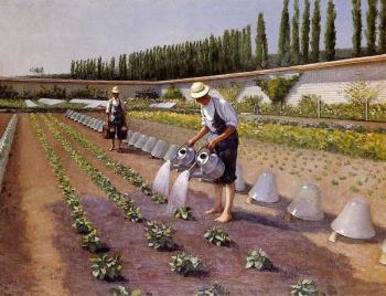 Gustave Caillebotte : The Gardenerspg