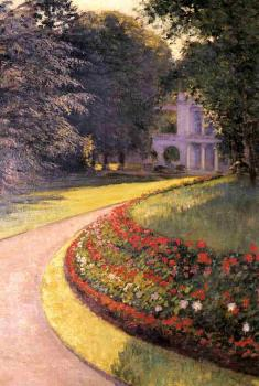 Gustave Caillebotte : The Park at Yerres