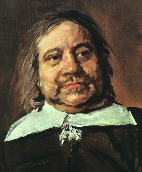 Frans Hals : Willem Croes (detail)