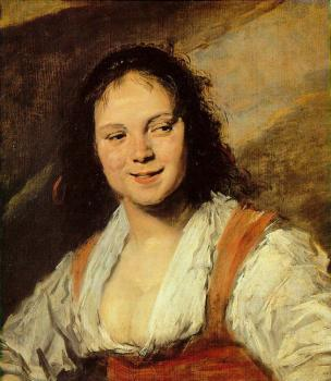 Frans Hals : The Gypsy Girl