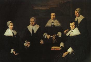 Frans Hals : The Women Regents of the Haarlem Almshouse