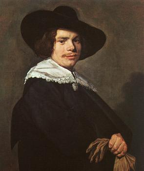 Frans Hals : Portrait of a Young Man
