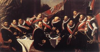 Frans Hals : Banquet of the Officers of the St George Civic Guard