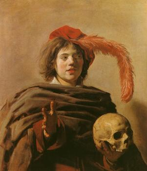 Frans Hals : Boy with a Skull