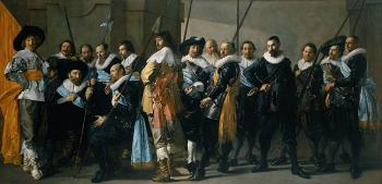 Frans Hals : Company of Captain Reinier Reael known as the Meagre Company
