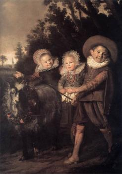 Frans Hals : Group of Children