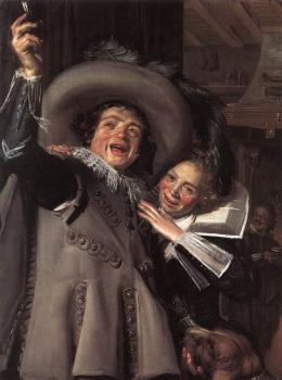 Frans Hals : Jonker Ramp and his Sweetheart
