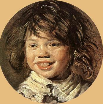 Frans Hals : Laughing Child