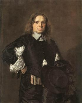 Frans Hals : Portrait Of A Man II