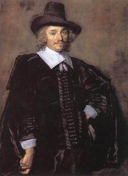 Frans Hals : Portrait Of A Man III