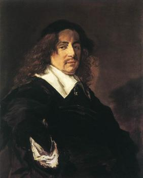 Frans Hals : Portrait Of A Man IV
