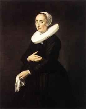 Frans Hals : Portrait Of A Woman II