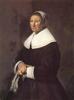 Frans Hals : Portrait Of A Woman III