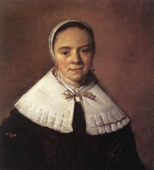Frans Hals : Portrait Of A Woman IV