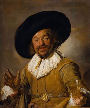 Frans Hals : The Merry Drinker II