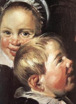 Frans Hals : The Rommel Pot Player detail