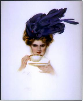 Harrison Fisher : Over the Teacup