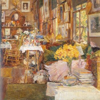 Childe Hassam : The Room of Flowers