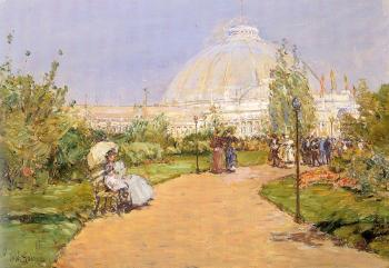 Childe Hassam : Horticultural Building, World's Columbian Exposition