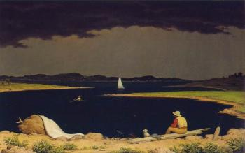 Martin Johnson Heade : Approaching Thunderstorm