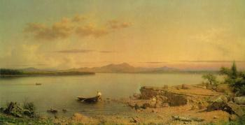 Martin Johnson Heade : Lake George