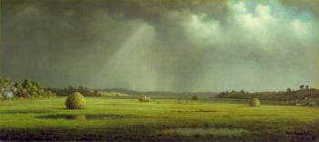 Martin Johnson Heade : Newburyport Meadows