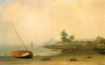 Martin Johnson Heade : The Stranded Boat