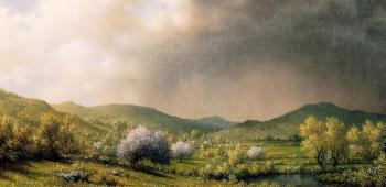 Martin Johnson Heade : April Showers