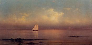 Martin Johnson Heade : Becalmed, Long Island Sound