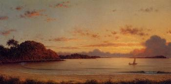 Martin Johnson Heade : Dawn